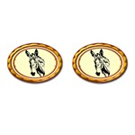 Donkey head Cufflinks (Oval)