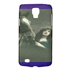 Vintage Woman With Horse Galaxy S4 Active by LokisStuffnMore