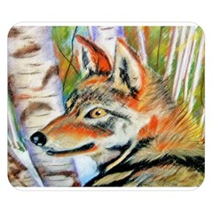 Wolfpastel Double Sided Flano Blanket (small)  by LokisStuffnMore