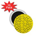 Smiley Face 1.75  Magnet (10 pack)