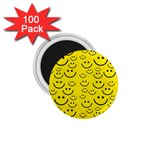 Smiley Face 1.75  Magnet (100 pack)