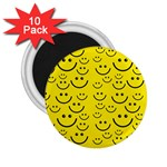 Smiley Face 2.25  Magnet (10 pack)