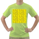 Smiley Face Green T-Shirt