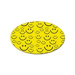Smiley Face Sticker (Oval)