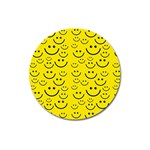 Smiley Face Magnet 3  (Round)