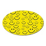 Smiley Face Magnet (Oval)