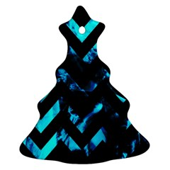 Zigzag Ornament (christmas Tree)
