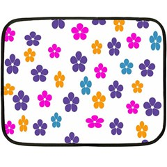 Candy Flowers Fleece Blanket (mini)
