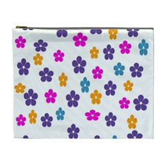 Candy Flowers Cosmetic Bag (xl) by designmenowwstyle