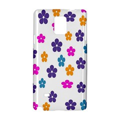 Candy Flowers Samsung Galaxy Note 4 Hardshell Case by designmenowwstyle