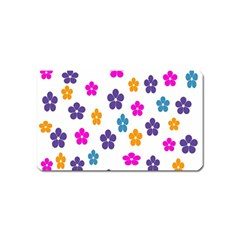 Candy Flowers Magnet (Name Card) by FashionMeNowwStyle2