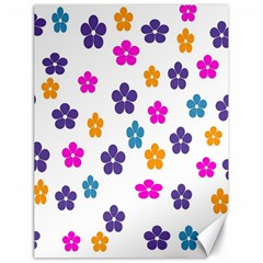 Candy Flowers Canvas 18  X 24   by designmenowwstyle