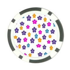 Candy Flowers Poker Chip Card Guards (10 pack)  by FashionMeNowwStyle2