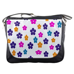 Candy Flowers Messenger Bags by designmenowwstyle