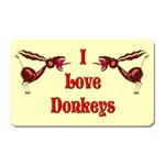 Love Donks Magnet (Rectangular)