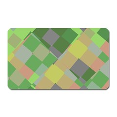 Squares and other shapes Magnet (Rectangular) by LalyLauraFLM