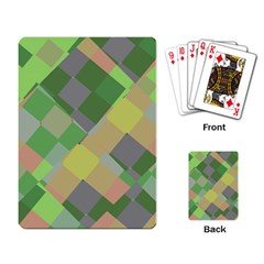 Squares And Other Shapes Playing Cards Single Design by LalyLauraFLM