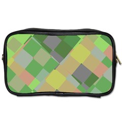 Squares And Other Shapes Toiletries Bag (two Sides) by LalyLauraFLM