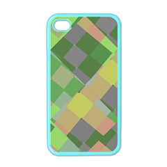 Squares And Other Shapes Apple Iphone 4 Case (color) by LalyLauraFLM