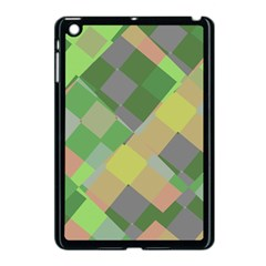 Squares and other shapes Apple iPad Mini Case (Black) by LalyLauraFLM
