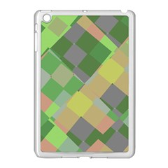 Squares And Other Shapes Apple Ipad Mini Case (white) by LalyLauraFLM