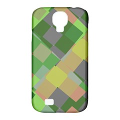 Squares And Other Shapes Samsung Galaxy S4 Classic Hardshell Case (pc+silicone) by LalyLauraFLM