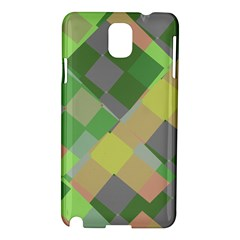 Squares And Other Shapes Samsung Galaxy Note 3 N9005 Hardshell Case by LalyLauraFLM