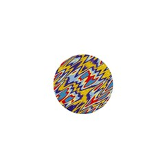 Colorful Chaos 1  Mini Magnet by LalyLauraFLM