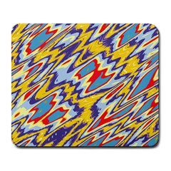 Colorful Chaos Large Mousepad by LalyLauraFLM