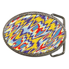 Colorful Chaos Belt Buckle