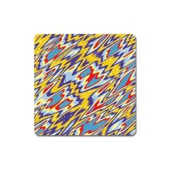 Colorful Chaos Magnet (square)