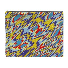 Colorful Chaos Cosmetic Bag (xl) by LalyLauraFLM