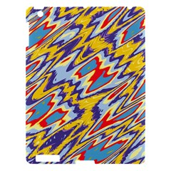 Colorful Chaos Apple Ipad 3/4 Hardshell Case by LalyLauraFLM