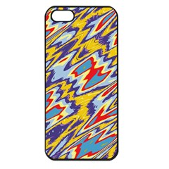 Colorful Chaos Apple Iphone 5 Seamless Case (black) by LalyLauraFLM