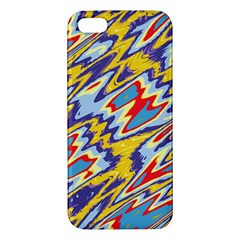 Colorful Chaos Iphone 5s Premium Hardshell Case by LalyLauraFLM