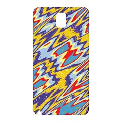 Colorful Chaos Samsung Galaxy Note 3 N9005 Hardshell Back Case by LalyLauraFLM