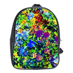 The Neon Garden School Bags(large)  by rokinronda