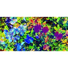 The Neon Garden You Are Invited 3d Greeting Card (8x4)