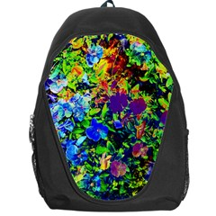 The Neon Garden Backpack Bag by rokinronda