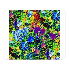The Neon Garden Double Sided Flano Blanket (large)