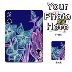 Bluepurple Playing Cards 54 Designs