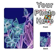 Bluepurple Multi Purpose Cards (rectangle)  by rokinronda