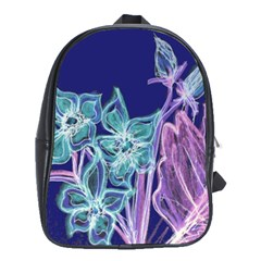 Bluepurple School Bags(large)  by rokinronda