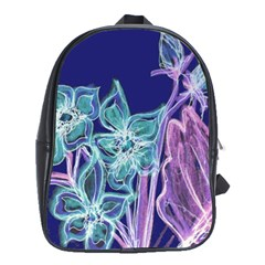 Bluepurple School Bags (xl)  by rokinronda