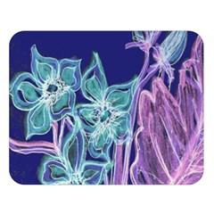 Bluepurple Double Sided Flano Blanket (large)