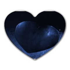 Blue Heart Collection Heart Mousepads by timelessartoncanvas