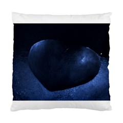 Blue Heart Collection Standard Cushion Cases (two Sides)