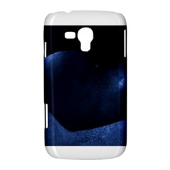 Blue Heart Collection Samsung Galaxy Duos I8262 Hardshell Case  by timelessartoncanvas