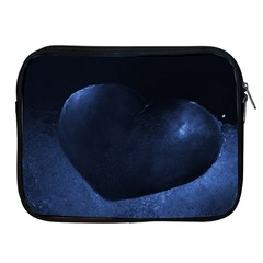 Blue Heart Collection Apple Ipad 2/3/4 Zipper Cases by timelessartoncanvas