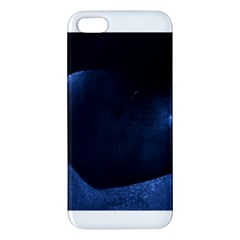 Blue Heart Collection Iphone 5s Premium Hardshell Case by timelessartoncanvas